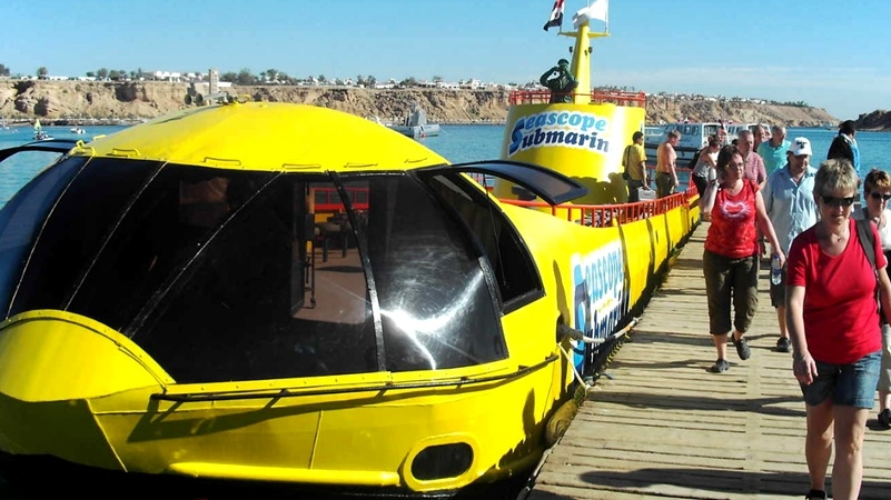 Semi Submarine Sharm El Sheikh Submarine Tour Mini Submarine